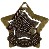 Mini Star Badminton Medal</br>AM720B